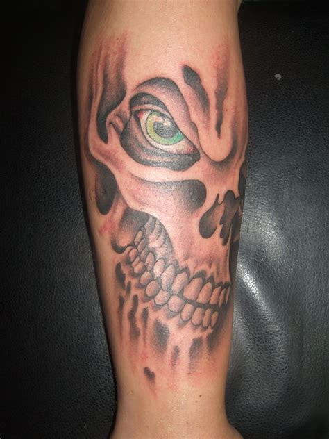 skull tattoo guy skull forearm tattoos designs ideas and meaning tattoos