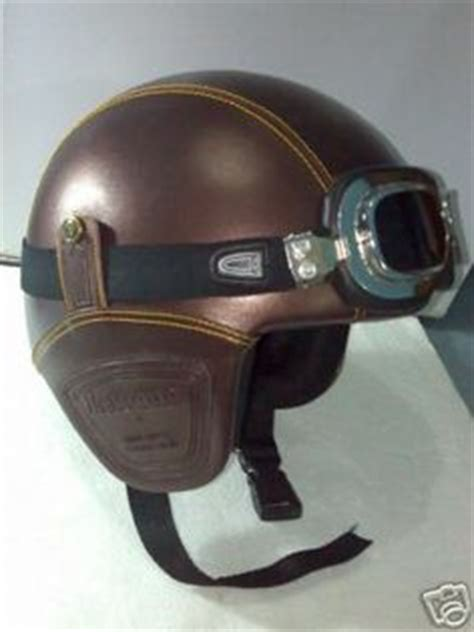 Helm Retro Type Maroon fighter pilot style motorbike helmet tornado jet motorcycle helmet from osbe italy gifts