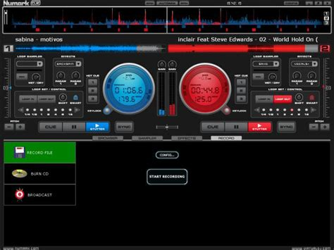 numark dj mixer software full version free download numark total control download