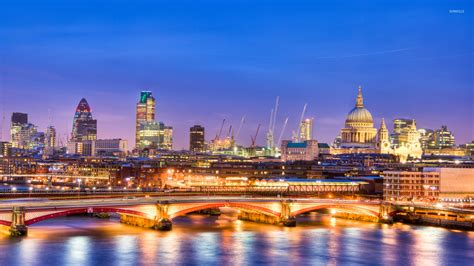 blue sky   city light  london wallpaper world