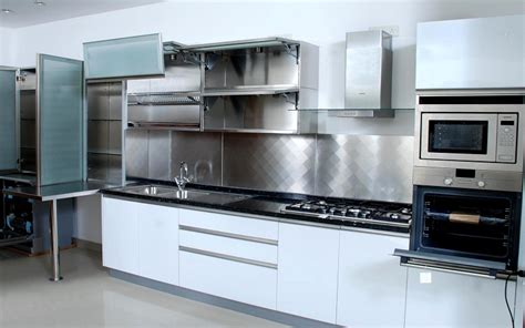 steel kitchen cabinets india stainless steel modular kitchens modular kitchens in