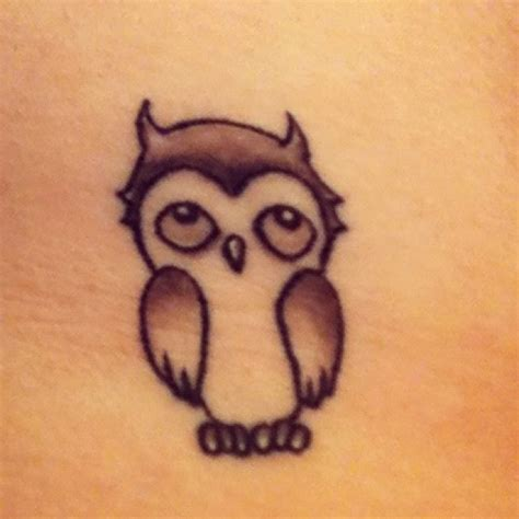 baby owl tattoo baby owl tats