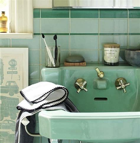nostalgia bathroom suite umywalka w stylu retro kokopelia design kokopelia design