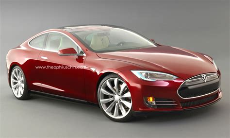 Tesla Electric Car Pictures Tesla Model S Coupe Rendering Autoevolution