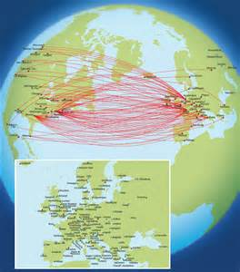 flight map us to europe delta air lines route map europe