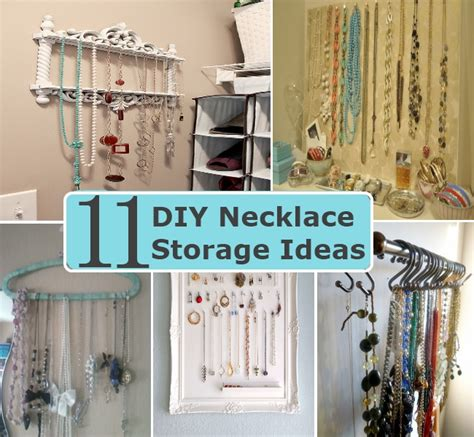 Handmade Storage Ideas - 11 innovative diy necklace storage ideas diy home things