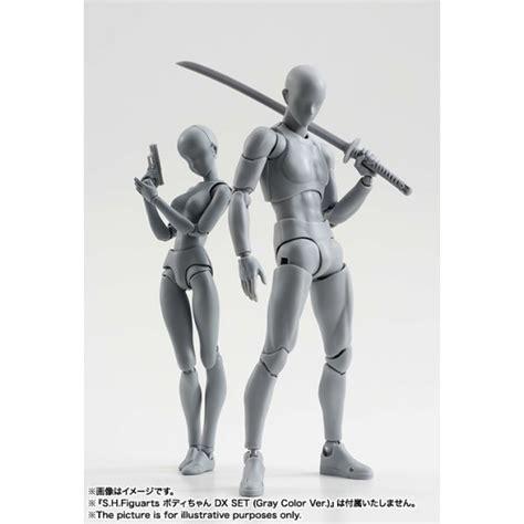 2 Pc New Edition Kun Chan Dx Set Takarai Rihito Gray Ver s h figuarts kun dx set gray color ver import from japan