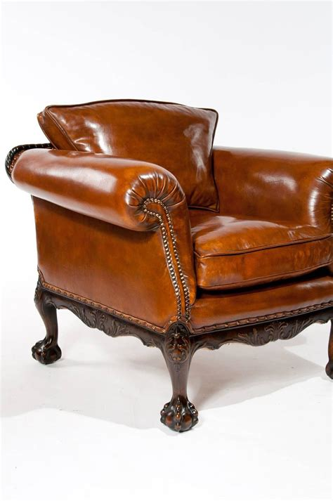 antique leather armchairs wonderful pair of antique leather armchairs at 1stdibs