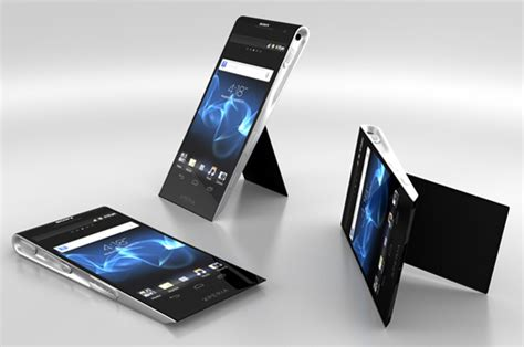 xperia design concept ooo it s a sony yanko design