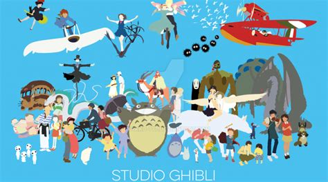 film kartun ghibli studio ghibli disneynya jepang stud life movie