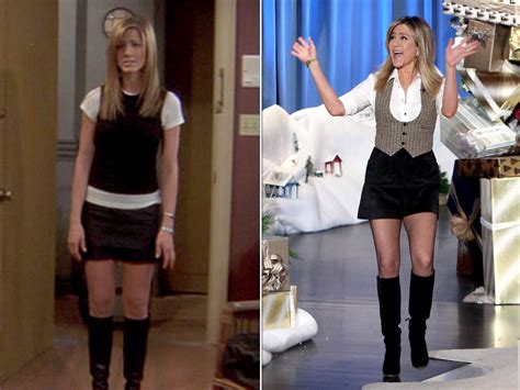 from friends aniston wears friends lookalike see the