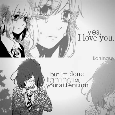 anime fight quote best 25 sad anime couples ideas on