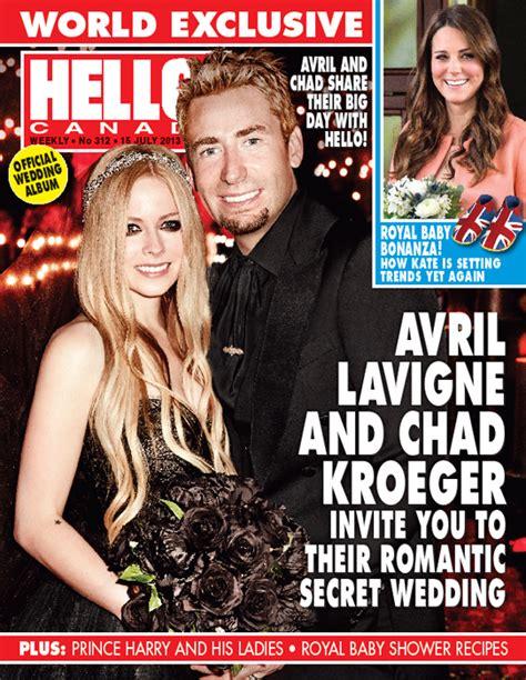 Exclusiva mundial: Avril Lavigne y Chad Kroeger se casan