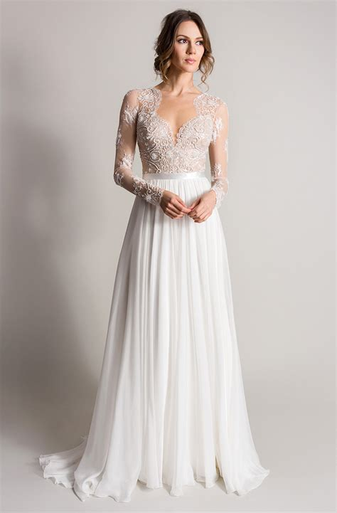 custom wedding dress camellia songbird lookbook 2016 suzanne neville