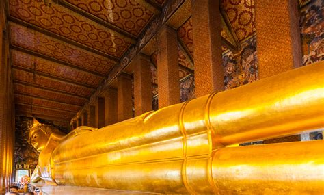 Temple Of The Reclining Buddha Wat Pho by Wat Pho Temple In Bangkok Thousand Wonders