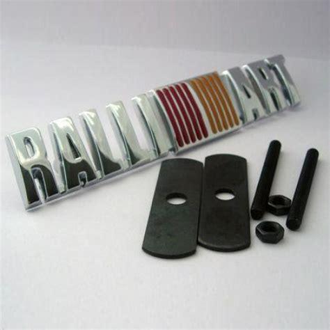 Emblem Grill Ralliart Murah badge lancer ralliart grill emblem v spec auto