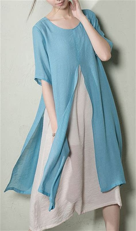 Cotton Layered Sundress Plus Size sundresses baby blue and plus size on