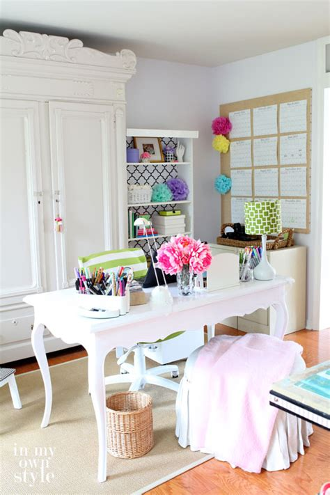 style my room studioffice craft room tour in my own style