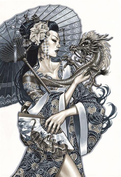 dragon tattoo geisha costume mark brooks monsters and dames emerald city con con 2015