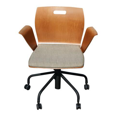 Metro Chair by 1 Metro Steelcase Rover Swivel Task Arm Chair Ebay