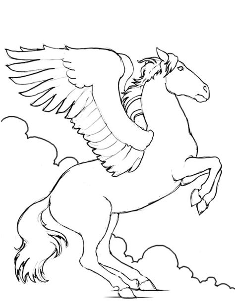 coloring pages of flying horses amazing coloring pages animal coloring pages horse