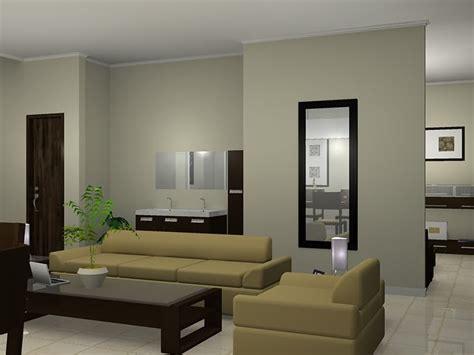 gambar desain ruang tamu minimalis modern nulis