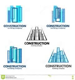 architect construction concept vector logos for