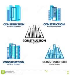 Architect Companies architect construction concept vector logos for