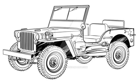 How To Up A Jeep Jeep Willys By Yassuo Igai On Deviantart