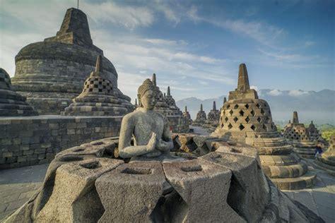 taman wisata candi experience  ancient world  java