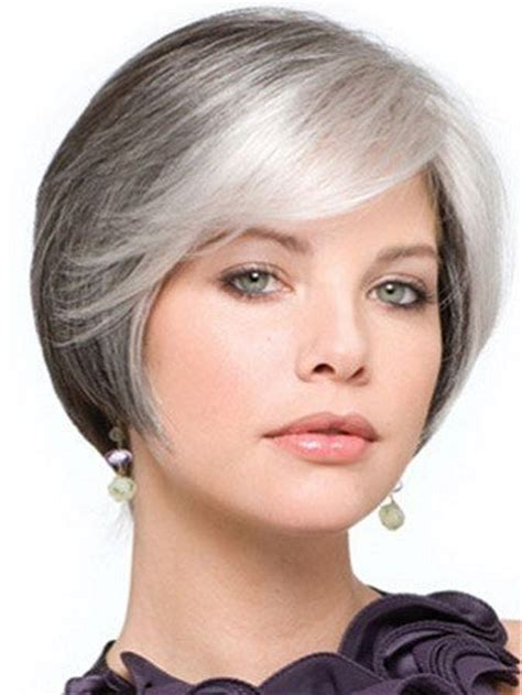 wigs for caucasian women over 50 short grey wigs for white women over 50 short hairstyle 2013