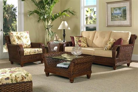 interior traditional handmade craft rattan sofa set for