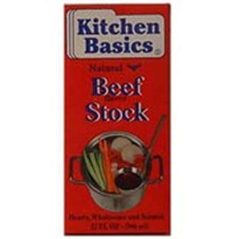 kitchen basics beef stock cooking original calories