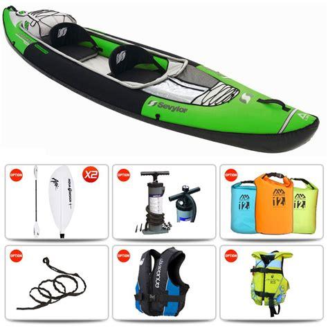 yukon inflatable boat sevylor yukon kcc 380 inflatable kayak
