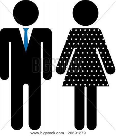 male female bathroom symbols formal male female bathroom vector photo bigstock