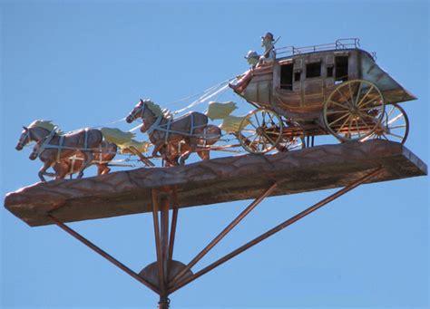 Handmade Weathervanes - galloping weathervane handmade of copper