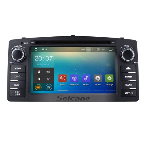 toyota corolla 2012 gps navigation system hd touchscreen radio android 7 1 gps navigation for 2006