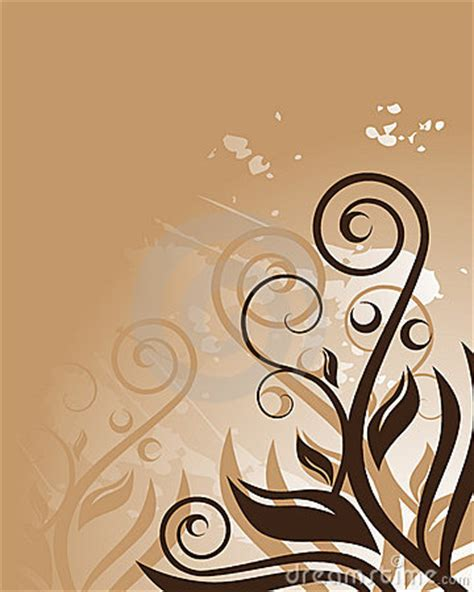 brown floral background royalty free stock photo image