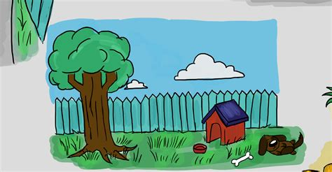 backyard clipart backyard cartoon 28 images cartoon vector illustration