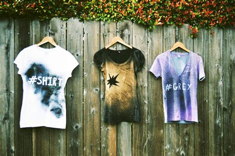 spray painting clothes mr kate diy graffiti shirt
