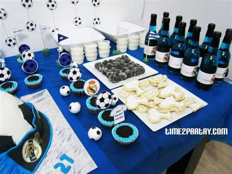 real madrid soccer football birthday ideas photo