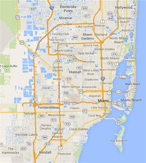 Of Miami Search Mapa De Miami Images