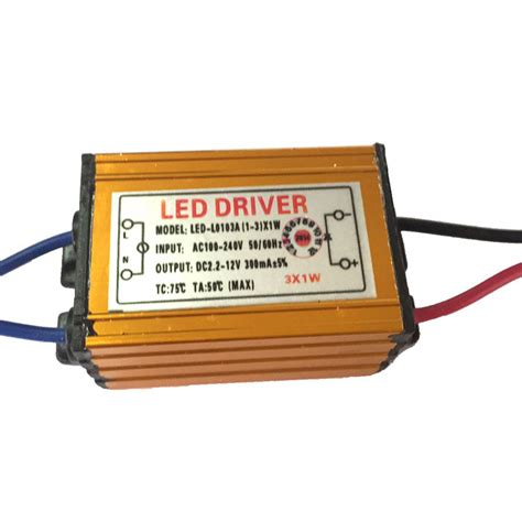 Driver Led 3w Buy Waterproof 3w Led Constant Current Source Power Supply Driver 85 265v