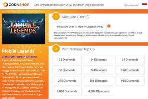 codashop google cuman disini kalian bisa mendapatkan harga diamond mobile