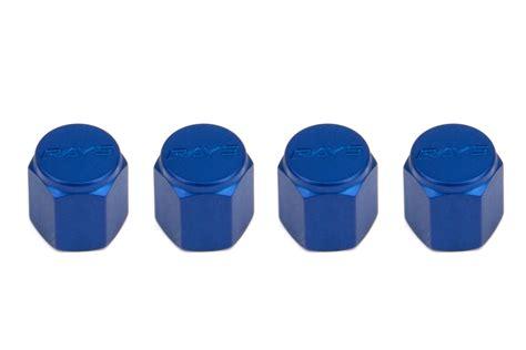 Tutup Pentil Rays Racing Tire Valve Cap volk racing rays valve stem caps blue wvalbl2 free shipping