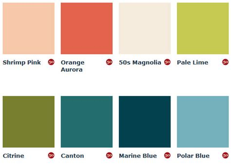 mid century color schemes mad for mid century june 2013