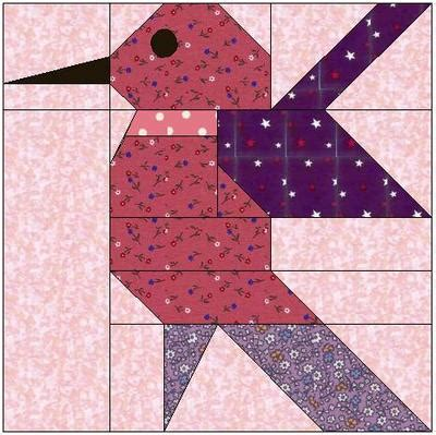 Piecing Patchwork Patterns - free paper pieced quilt block pattern for strings