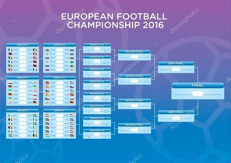 Calendario Z Cup 2016 2016 Footbal Match Schedule Template For Web Print