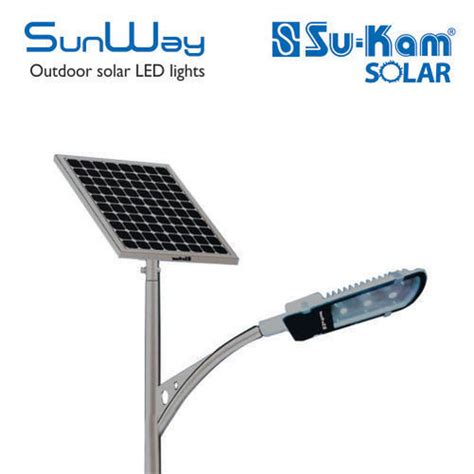 Sunway Solar Street Lighting 15wp Led Based India Go Solar Solar Energy Light Price In India