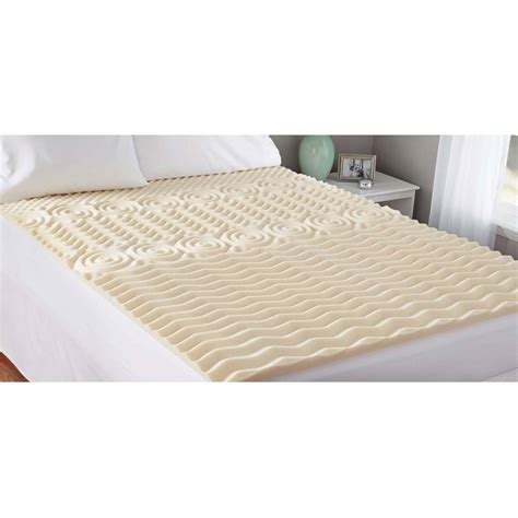 home design 5 zone memory foam home design 5 zone memory foam full mattress topper